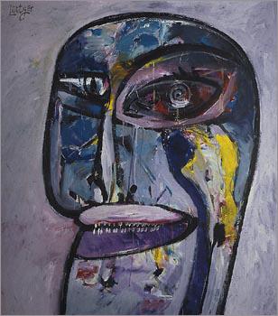 Head (Hommage à Picasso)